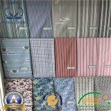 Tela uniforme del algodón superior para la ropa de la ropa de la enfermera/de la ropa/del uniforme escolar/del restaurante del trabajador