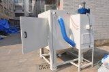 Sabbiatore della muffa con la macchina di sabbiatura della piattaforma girevole per le muffe