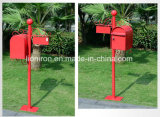 Hand-Made Garden Decoração Letter Box Rusty Metal Iron Mail Box