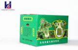Grünes Gemüse-gewölbter Karton
