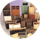 Profil de PVC et ligne d'extrusion de Bois-Plastique