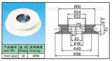 Wire di ceramica Guide Pulley, Groove Guide Roller con Bearing (TC07-1)