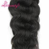 Волна 18 дюймов естественная отсутствие линяя камбоджийских волос
