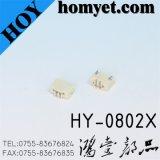 SGS bas FPC 0,8mm tangage Connecteur de câble plat pour les produits numériques (HY-0802X)