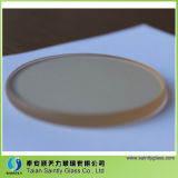 Shandong 4 mm 5 mm de alta temperatura de cerámica de cristal Chimenea por Chimenea