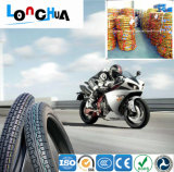 中国の工場は直接供給する3つの車輪のオートバイのチューブレスタイヤ(3.50-10)を