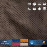 A fábrica fornece diretamente o couro perfurado alta qualidade do PVC dos sacos