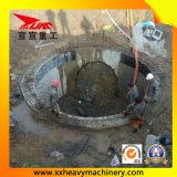 機械を持ち上げるTpd2800地下の排水渠
