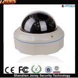 Macchina fotografica esterna del IP del CCTV P2p di Poe 1080P della cupola Vandalproof del metallo