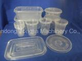 Automático de la máquina de moldeo por inyección plástico de la taza