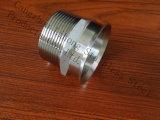 Entrerrosca de la cuerda de rosca de Bsp de la instalación de tuberías de acero inoxidable del bastidor