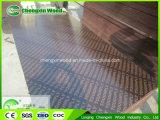 Chengxinの木製の構築のフィルムは合板の製造業者18 mmブラウンに直面したまたは黒いフィルムは合板によって使用された構築のテンプレートに直面した