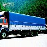 De Met een laag bedekte Stof van de weerbestendigheid pvc voor het Geteerde zeildoek van de Dekking van de Vrachtwagen