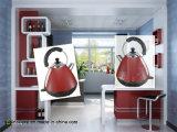 Caldaia elettrica senza cordone dell'acciaio inossidabile degli elettrodomestici con colore personalizzato