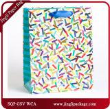 O presente da cor contínua ensaca sacos de compra dos sacos de compra do mantimento euro-