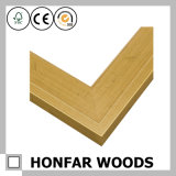 Moulure de cadre en bois à motif rétro pour projet d'hôtel