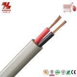 PVC Insulated y Sheathed 300/500V de Core Flat Power Cable de la alta calidad 2 Cores/3