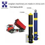 Venda quente telescópica/cilindro hidráulico caminhão de descarga