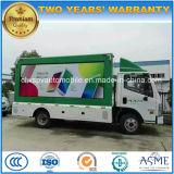 6 vehículo impermeable de la pantalla de las ruedas HD LED carro publicitario móvil de 6 T