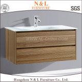 Governo di legno moderno di vanità della stanza da bagno del MDF di N&L