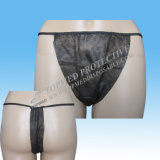 Desechables Sexy Ladies Bikini Briefs Tanga G-String para SPA Hotel