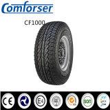 Esbozó Carta blanca de buena calidad de los neumáticos de coche
