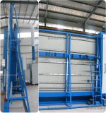 Máquina de vidriero doble del CNC