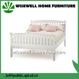 Kiefernholz-weiße Farben-spätestes Bett konzipiert (W-B-0093)