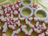 Отлитое в форму набивка запечатывания шайбы фланца PTFE резиновый