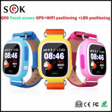 Smart Watch Phone GPS Tracking Kid Watch Q90 Montre intelligente pour enfants avec GPS GSM GPRS WiFi GPS Locator Tracker Anti-Lost Smartwatch