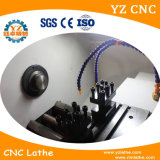 Ck0632 com preço da máquina do torno do CNC do alimentador da barra mini