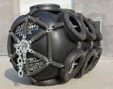Defensa de goma neumática marina usada nave/defensa inflable