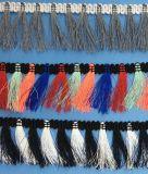 Formar a mais cor a franja bem escolhida do Tassel para a decoração