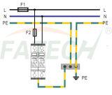 TUV CE approuvé 1 Phase 40kA un protecteur de surtension