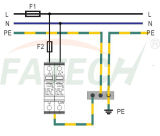 CE TUV одобрил 1 ограничитель перенапряжения Phase 40kA