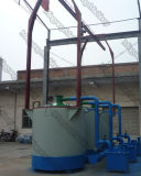Smokeのセリウム無しApproved Gas Flow Charcoal Making MachineかCarbonization Furnace