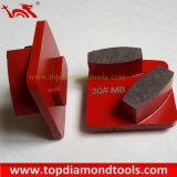 As placas de moagem de diamante para betão / mosaicos de polimento de piso