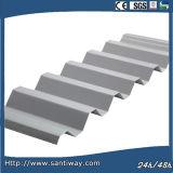 Hoja de acero acanalada para el material para techos y la pared