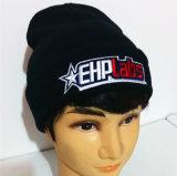 Bordados de alta calidad Hat/tapa de tejidos no aleros Beanie Hat
