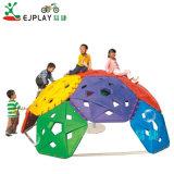 As crianças Ginásio parque infantil exterior da parede de escalada Equipamento do parque de diversões