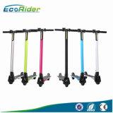 Ecorider E4 pliable en fibre de carbone avec certificat CE Kick Scooter électrique