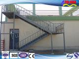 Escalera/plataforma/barandilla/escaleras de acero para el taller de la estructura de acero