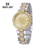 Mode occasionnelle Bracelet&#160 de montre de personnalité de Belbi ; Montre imperméable à l'eau femelle de quartz de montre