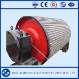 Gummioberflächenübertragungs-Riemenscheibe für Bandförderer