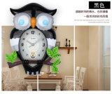 De la fábrica reloj de pared del buho de los personajes de dibujos animados directo, reloj de los niños