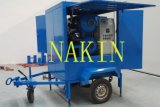 Strumentazione mobile di filtrazione dell'olio isolante di vuoto