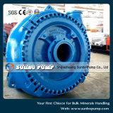 Pompa centrifuga orizzontale della ghiaia di alto flusso nelle vendite della Cina
