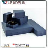 Boîte-cadeau en cuir d'emballage de bijou de cadre de mémoire de bijou de velours (YS726)