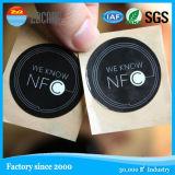 주문 인쇄할 수 있는 NFC RFID 금속 레이블, 접착성 반대로 금속 RFID 꼬리표
