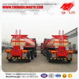 De camion-citerne remorque acide corrosive semi avec la suspension mécanique